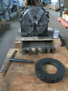 Hartford 12andprime Super Spacer With Buck 12andprime 6 Jaw Chuck Right Angle Mount And Plates