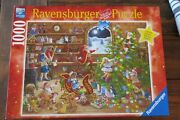 Ravensburger Countdown To Christmas Limited Edition 198825 1000 Pieces Puzzle