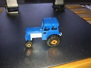 Matchbox Toys 46 Ford Tractor Blue W/pearl Silver Base And Orange Wheels