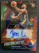 2019-20 Zion Williams Rookie Autograph Red Airborne Pellicans Star Hot 🔥🔥
