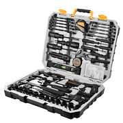218-piece General Household Hand Tool Kit Auto Repair Tool Set For Home Diy