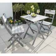 Garden Bench Table Chair Plant Stand Furniture Collection Florenity Grigio