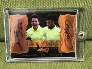 Rare Autographed Trading Cards World Limited 9 7/9 [leaf Q Lionel Messi And Neym