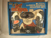 The Legend Of The Lone Ranger Boxed Gabriel Six-piece Double Holster Set