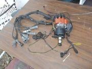 74-75 Mercedes Distributor D-jet W/trigger Points + Cap Wires And Tags + Sensor