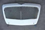 2014-2018 Bentley Sedan Flying Spur Front Chrome Grille Complete 4w0853651a Oe