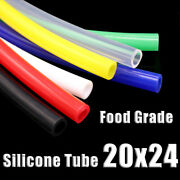 Food Grade Silicone Tubing 20x24mm Vacuum Hose Drinking Pipe Multiple Colour