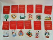 Avon Twelve Days Of Christmas Ornaments Gift Collection Complete Set Of 12