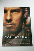 Collateral 2000s Original Turkish Crime Movie Poster C7 Tom Cruise Rolled Rare