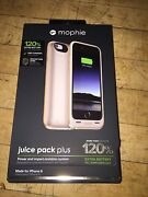 New Gold Mophie Juice Pack Plus External Battery Case For Apple Iphone 6 And 6s