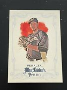 2013 Topps Allen And Ginter Wily Peralta Sp 321 Milwaukee Brewers