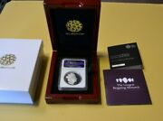 2015 Longest Reigning Monarch £5 Five Pound Silver Pf 70 Ultra Cameo 56.56 Grams