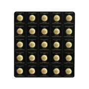 2021 25 X 1 Gram Canadian Gold Maples .5 Coin .9999 Fine - Maplegram25andtrade In