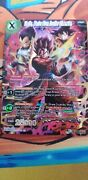 Vegito Warrior From Another Dimension Scr Dragon Ball Super Card Game Nm P2s