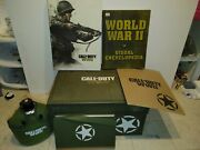 Call Of Duty Ww2 World War 2 Strategy Guide Box W Canteen See Pics