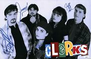 Clerks 11x17 Poster Signed O'halloran Mewes Anderson Ghigliotti Jsa Certified
