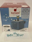 Toniebox Starter Set Light Blue And Creative Tonie For Boys And Girls- New