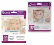 Dieand039sire Create-a-card Crafters Companion Love Is In The Air And Spring Garden 2pc