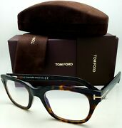 New Tom Ford Reading Glasses Tf 5536-b 052 51-21 Tortoise And Gold Frames Readers