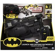 New Launch And Defend Batmobile Rc Car For Dc Batman Part Of The Dc Collection