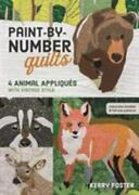 Paint-by-number Quilts 4 Animal Appliqués With Vintage Style By Kelly Foster