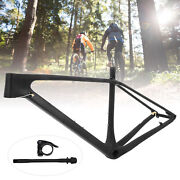 Ultralight Carbon Fiber Mountain Bicycle Frame With Seatpost Clip Tube Shaft
