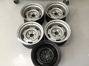 Corvette 15x8 Wheels Date Coded July 14 15 1970 Complete Set Includes Spare