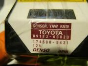 Chassis Ecm Stability Yaw Rate Control Fits 06-08 Lexus Is250 336113