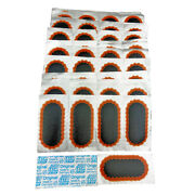 50 Rema Tip Top F2 Oval Patches - Bicycle Flat Tire Tube Puncture Repair Kit