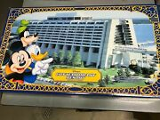 Contemporary Resort Walt Disney World Monorail Toy Theme Park Collection - New
