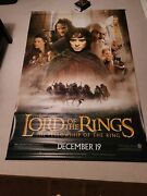 Lord Of The Rings Theater Vinyl Banners All 3 Movies