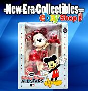 Disney Mickey Mouse Allstars Mlb Angels Ceramic Figure Forever Collectibles 2010