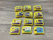 Leapfrog Game Cartridges Only Lot Of 12 My First Leappad Games Only