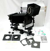 Toyo-view 45gx Large Format Monorail Camera With Lens Hood Linhof Adapter Etc.