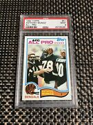 1982 Topps 51 Anthony Munoz Rookie Card Bengals Psa 9 Mint
