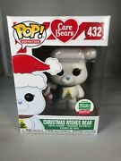 Christmas Wishes Bear Funko Pop Good Condition