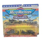 Micro Machines Military 10 Stinger Strike Force Vintage Sealed New Old Stock