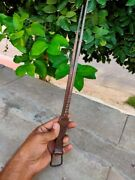 Antique Copper Tongs Hand Forged Engraved Tongs Indian Kitchenware Home Decor