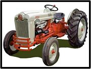 Ford Tractors New Metal Sign Golden Jubilee Model Large Size 12 X 16