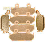 Front And Rear Sintered Motorcycle Brake Pads For 1991-1994 Honda Cbr600f2