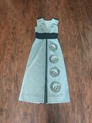 Alfred Shaheen Classic Vintage 1960and039s/70and039s Dress Size 10