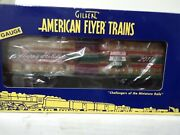 American Flyer 6-48694 S Scale Mint 2011 Christmas 2011 Holiday Boxcar