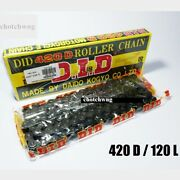 D.i.d Motorcycle Chain Chain 420 / 120l Stunt Parts Accessories Road Bike Speed