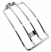 Luggage Rack Chrome-plated For Harley Davidson Fxd Dyna Glide Street Bob Only