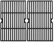 Bbq Grill Cast Iron Cooking Grates Grid 2-pack Replacement For Kenmore 5 Burner