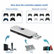Ps5, Ps4, Switch, Ps3, Xbox360, Xboxone Wired+bluetooth Controller Converter New