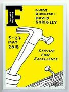 David Shrigley, Strive For Excellence, Signed Limited Edition