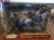 Breyer Bayberry And Roses 2014 Holiday Horse New