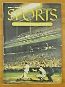 First Sports Illustrated With Baseball Cards Jackie Robinson Mays Willams Nmt