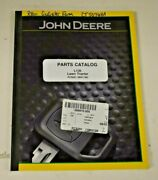 Pc9291 John Deere Parts Catalog. For L130 Lawn Tractor